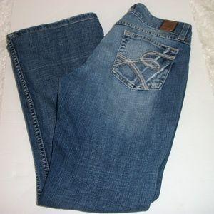 BKE Culture 31x29 Medium Wash Flare Leg Jeans